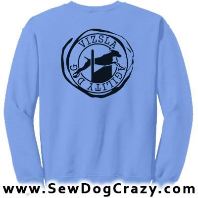 Vizsla Agility Sweatshirt