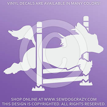 Chinese Crested Agility Decal