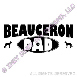 Beauceron Dad Apparel