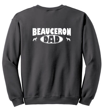 Beauceron Dad Sweatshirt