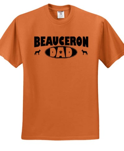 Father's Day Beauceron Dad T-Shirt