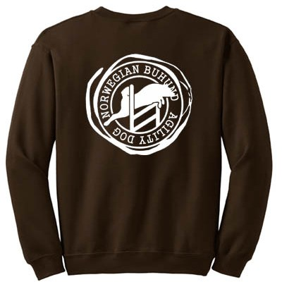 Agility Norwegian Buhund Sweatshirt