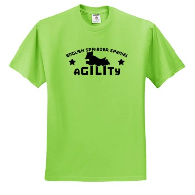 English Springer Spaniel Agility T-Shirt