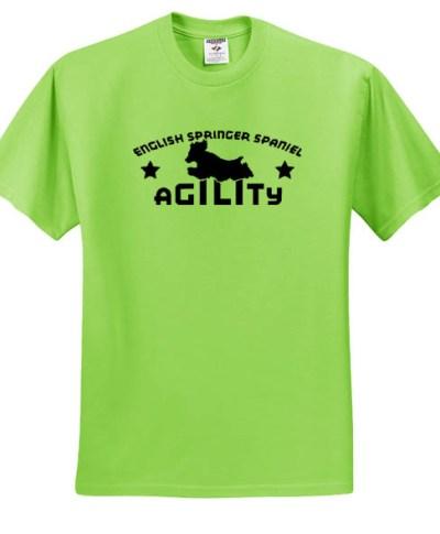 English Springer Spaniel Agility T-Shirt