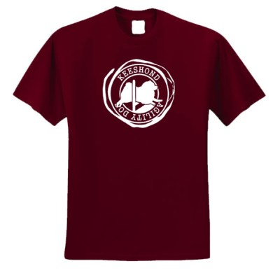 Keeshond Agility T-Shirt