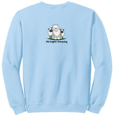 Embroidered Old English Sheepdog Sweatshirt