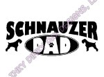 Schnauzer Dad Apparel