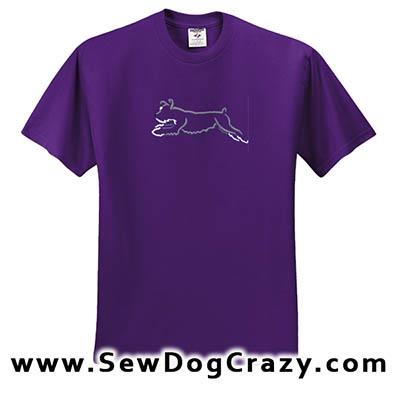 Dog Sports Schnauzer Tshirt