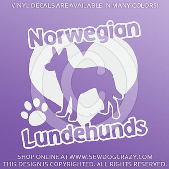 Love Lundehunds Decal
