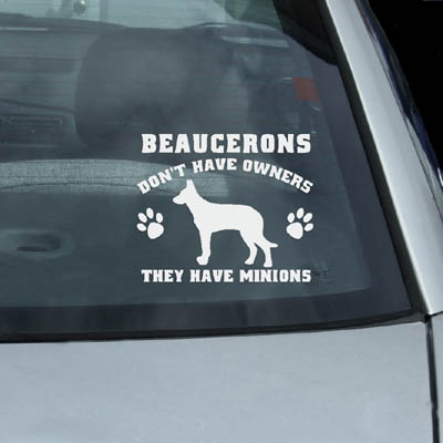 Beauce Shepherd Vinyl Decals