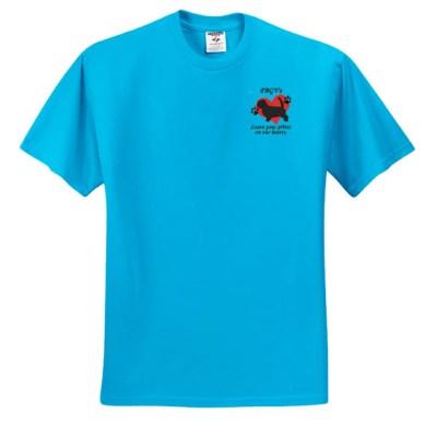 Cute PBGV Embroidered T-Shirt