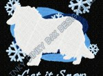 Winter Collie Embroidery Apparel