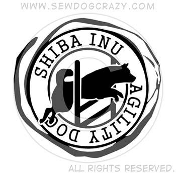 Shiba Inu Agility Dog Shirts