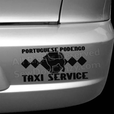 Portuguese Podengo Tax Bumper Stickers