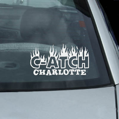 Personalized C-ATCH Dog Agility Decal