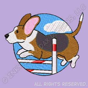 Cartoon Basset Hound Agility Gifts