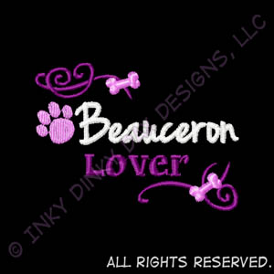Pretty Embroidered Beauceron Gifts