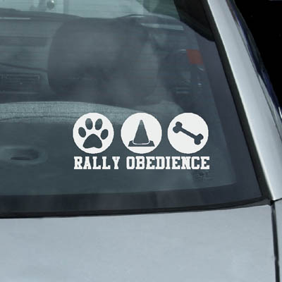 Fun Rally Obedience Decal