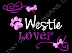 Westie Lover Embroidered Apparel