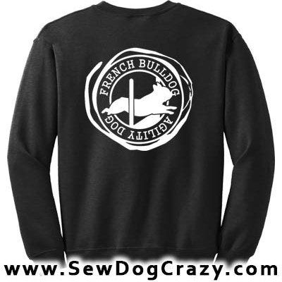 French Bulldog Agility Sweatshirts
