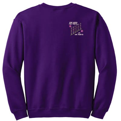 Embroidered Weave Poles Sweatshirt