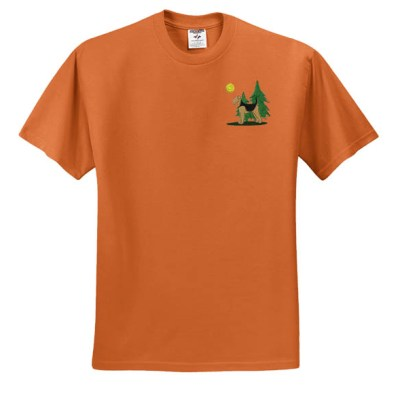 Airedale Terrier Embroidered T-Shirt