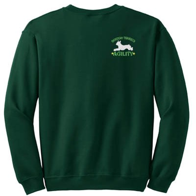 Boston Terrier Agility Sweatshirt