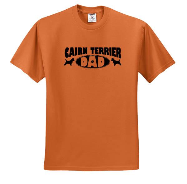 Cairn Terrier Dad T-Shirt