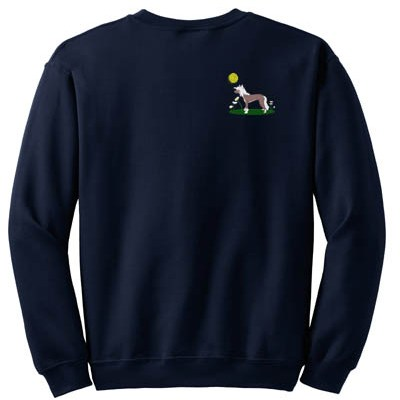 Embroidered Chinese Crested Sweatshirt