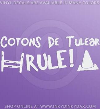 Coton de Tulear Agility Decal