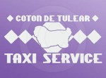 Coton Taxi Service Stickers