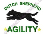 Embroidered Dutch Shepherd Apparel