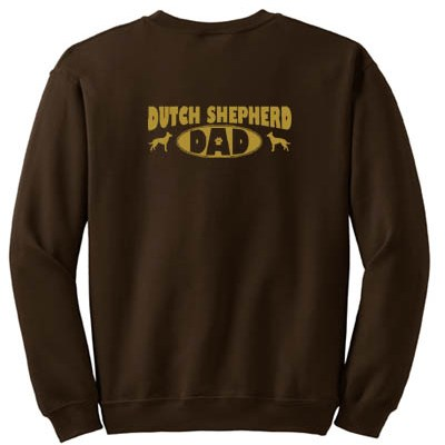 Dutch Shepherd Dad Sweatshirt