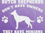 Funny Dutch Shepherd Stickers