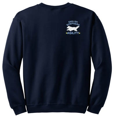Cool English Shepherd Agility Sweatshirt