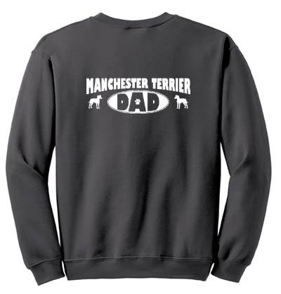 Manchester Terrier Dad Sweatshirt