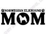 Norwegian Elkhound Mom Gifts