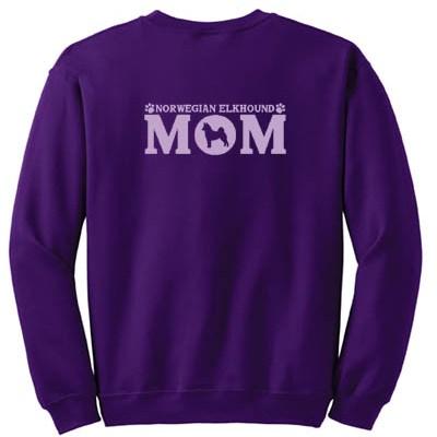 Norwegian Elkhound Mom Sweatshirt