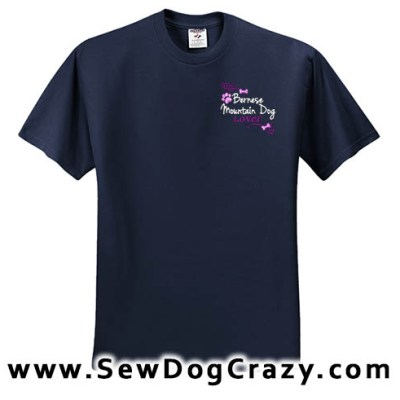 Pretty Bernese Mountain Dog Lover Tshirts
