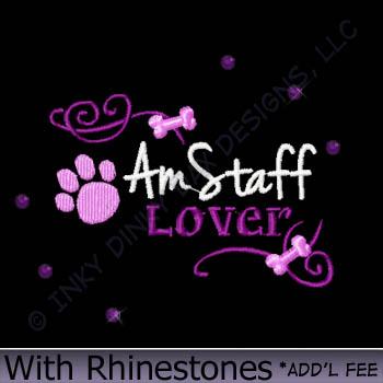 Rhinestones AmStaff Apparel
