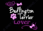 Pretty Bedlington Terrier Embroidery