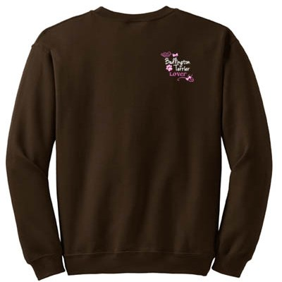 Embroidered Bedlington Terrier Sweatshirt