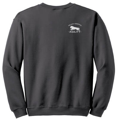 Belgian Sheepdog Agility Sweatshirt