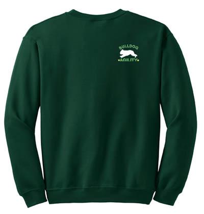 English Bulldog Agility Sweatshirt