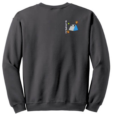 Embroidered Flyball Sweatshirt
