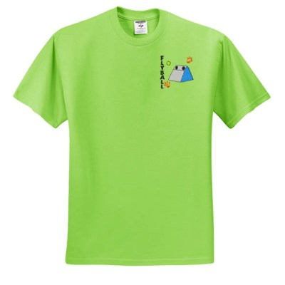 Embroidered Flyball T-Shirt