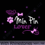 Rhinestones Min Pin Embroidery