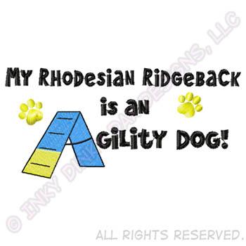 Agility Rhodesian Ridgeback Apparel