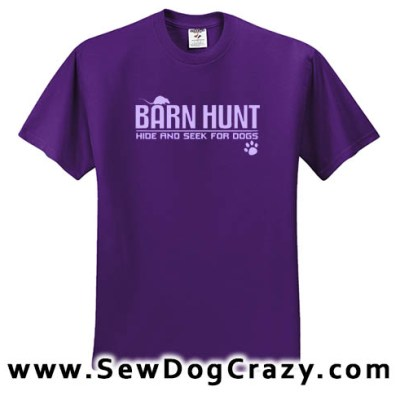 Barn Hunt Tees
