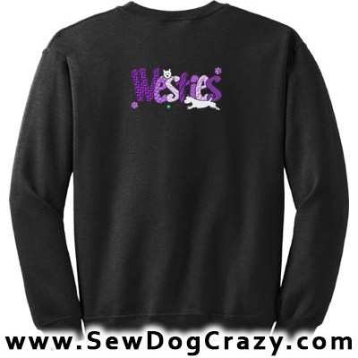 Cute Westie Sweatshirt